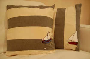 Decorated pillow