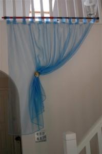 Organdy curtains