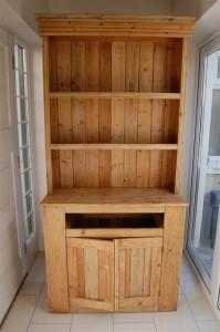 Renovate kitchen dresser