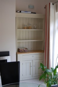 Renovated kitchen dresser